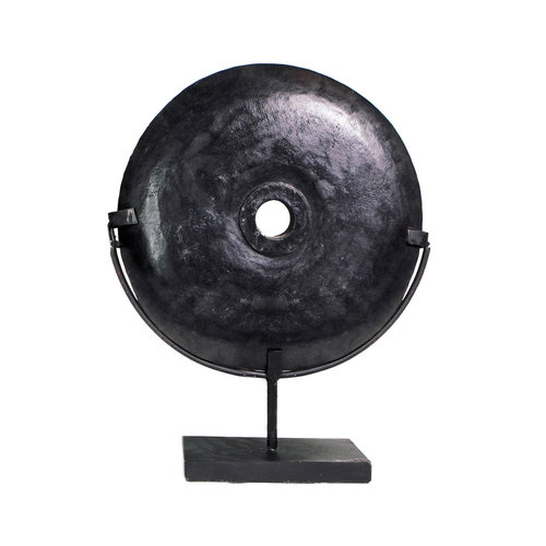 Bazar Bizar The Black River Stone on Stand - Large