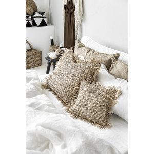 Bazar Bizar The Raffia Cushion cover Square - Natural - 60 x 60 cm