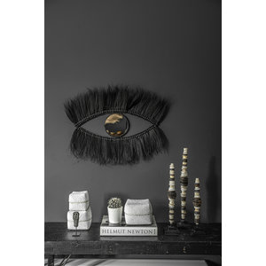 Bazar Bizar Black Eye Peili - Musta - 100 cm