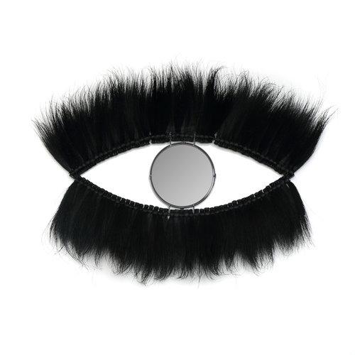 Bazar Bizar The Black Eye Mirror - Black - 100 cm