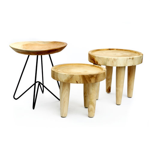 Bazar Bizar The Suar Side Table - Natural