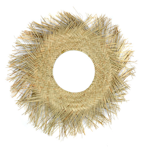 Bazar Bizar The Rotan Mirror - Natural - 65 cm