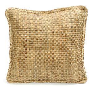 Bazar Bizar The Hyacinth Cushion - Natural - 60 x 60 cm