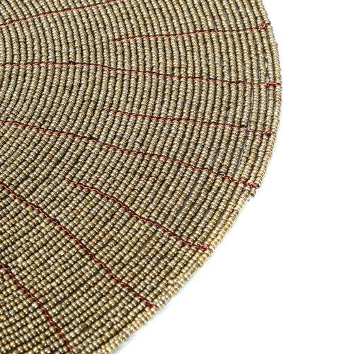 Bazar Bizar Beaded Tabletti - Kulta - 30 cm