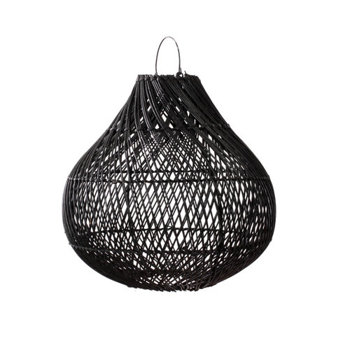 Bazar Bizar The Bottle Pendant - Black - 50 cm