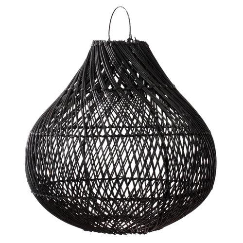 Bazar Bizar The Bottle Pendant - Black - 60 cm