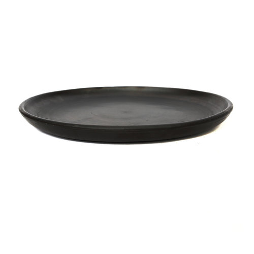 The Burned Classic Plate - Black - L