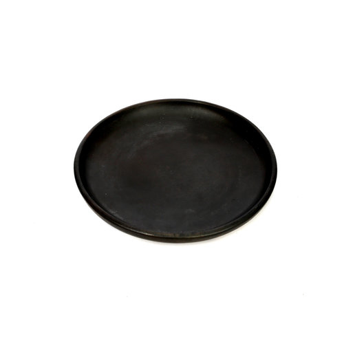 The Burned Classic Plate - Black - S