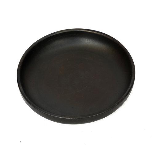 The Burned Deep Plate - Black - M
