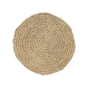 Bazar Bizar Seagrass Tabletti Pyöreä - Natural - 40 cm