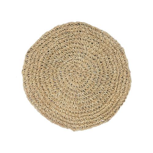 Bazar Bizar The Seagrass Placemat Round - Natural - 40 cm