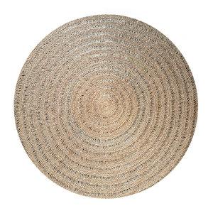 Bazar Bizar The Seagrass Carpet Round - Natural - 150 cm