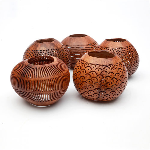 Bazar Bizar The Coconut Star - Brown - 13 cm