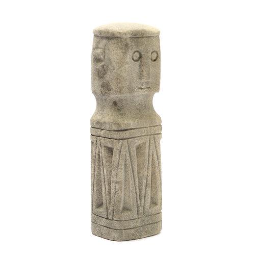 Bazar Bizar The Sumba Stone Statue - Natural - 20 cm
