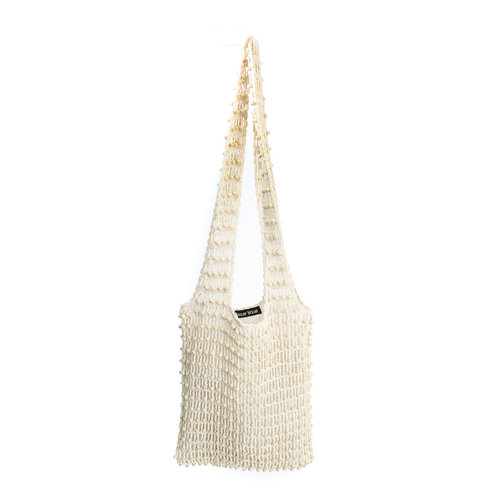Bazar Bizar The Day in Day out Tote - White
