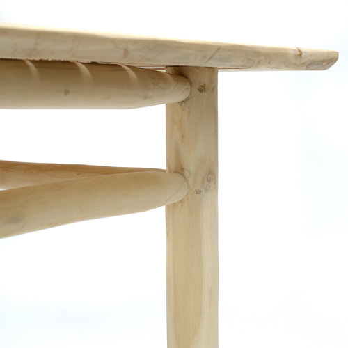 Bazar Bizar The Tulum Dining Table - Natural