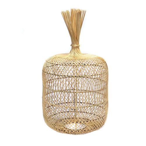 Bazar Bizar The Rattan Dumpling Floor Lamp - Pendant - Natural - 50 cm