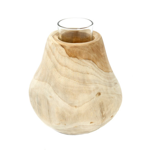 Bazar Bizar The Candle Drop - Natural - 16 cm