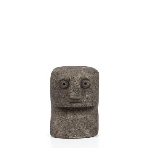 Sumba Kivipatsas - Musta - 8 cm