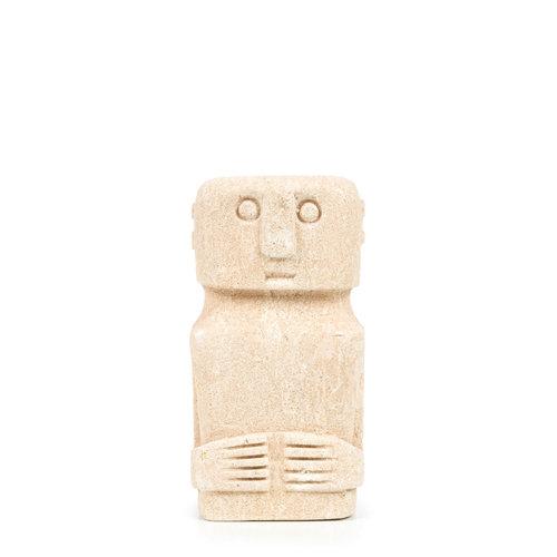 Sumba Kivipatsas - Natural - 16 cm