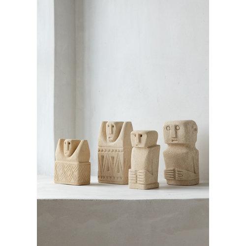 Bazar Bizar Sumba Kivipatsas - Natural - 16 cm