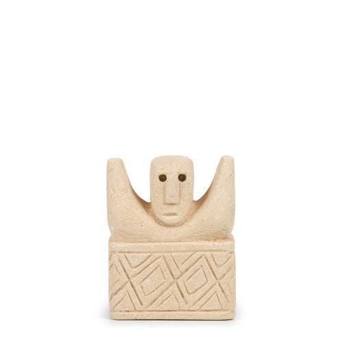 Sumba Kivipatsas - Natural - 15 cm