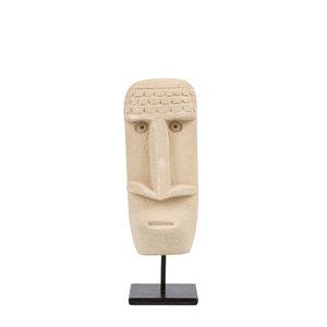 Sumba Kivipatsas Jalustalla - Natural - 20 cm