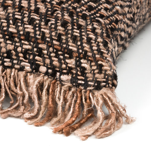 The Oh My Gee Cushion - Black Copper
