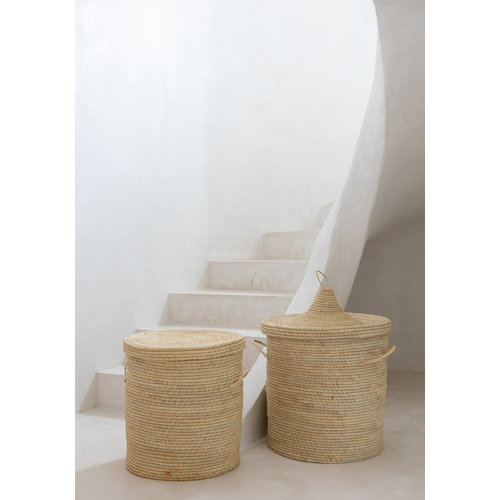 Bazar Bizar The Bozaka Laundry Basket  - Natural - M