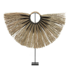 Alang Wood Hyllykoriste Jalustalla - Natural - 84 cm