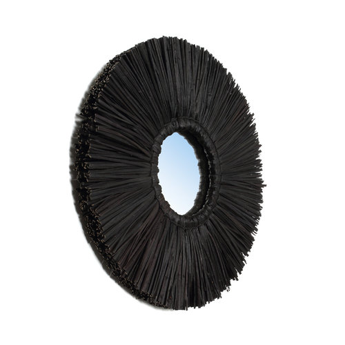 Bazar Bizar The Alang Alang Mirror - Black - S