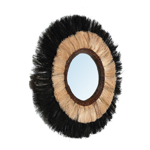 Bazar Bizar The Blackout Mirror - Natural Black - M