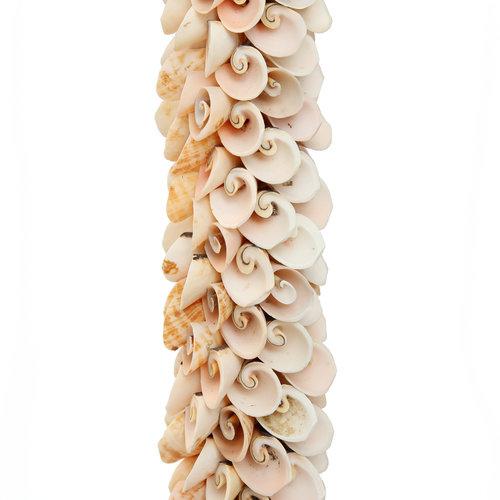 Bazar Bizar Shell Tupsu - Vaaleanpunainen Natural - 80 cm