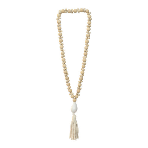 The Kubu Necklace - Natural White