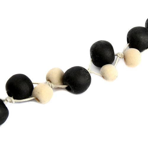 Bazar Bizar The Canggu Necklace - Natural Black