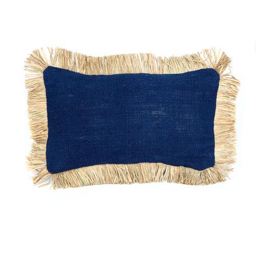 Saint Tropez Koristetyyny - Sininen Natural - 50 x 30 cm