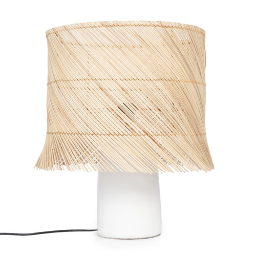 The Rattan Table Lamp