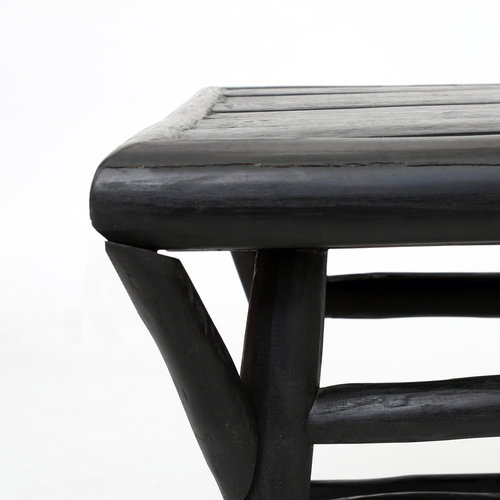 Bazar Bizar Tulum Sivupöytä - Musta - 50 cm