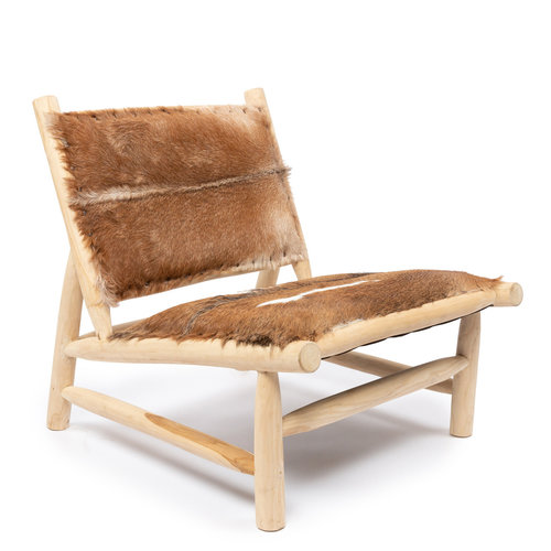 Bazar Bizar Island Comfy Tuoli - Natural Ruskea - 83 cm