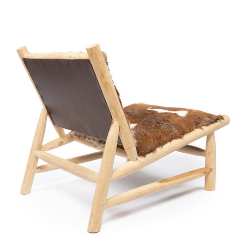 Bazar Bizar The Island Comfy Chair - Natural Brown
