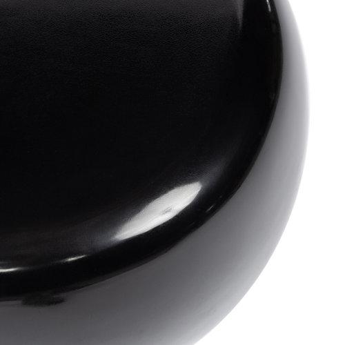 Bazar Bizar The High Gloss Side table - Black