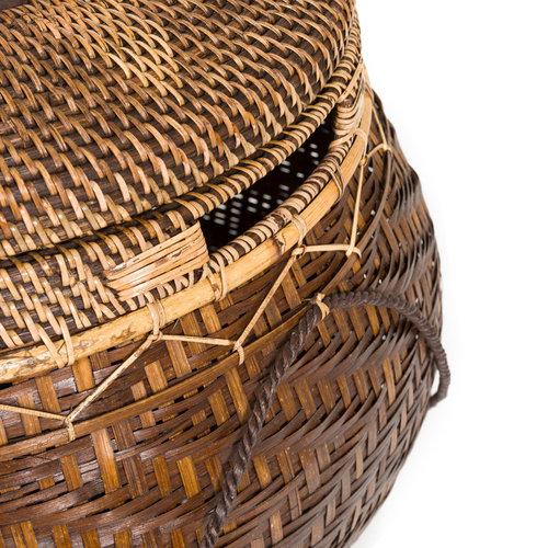 Bazar Bizar The Colonial Basket - Natural Brown