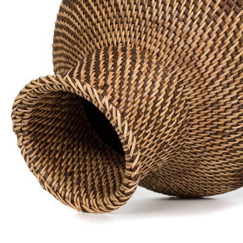 Bazar Bizar The Colonial Vase - Natural Brown