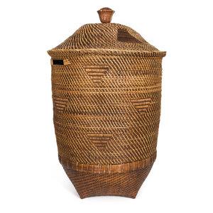 Bazar Bizar Colonial Pyykkikori - Natural Ruskea - 71 cm