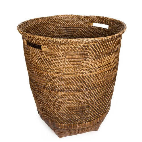 Bazar Bizar The Colonial Laundry Basket - Natural Brown - XL