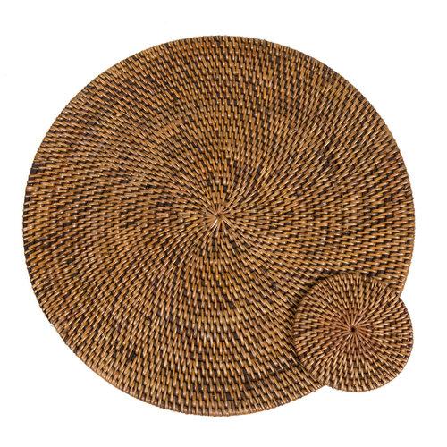 Bazar Bizar The Colonial Coaster - Natural Brown