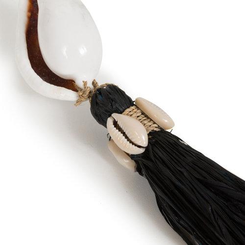 Bazar Bizar The Kubu Keychain - Black Natural