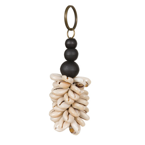 Bazar Bizar The Canggu Keychain - Natural Black