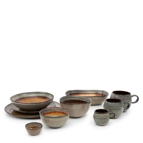 6 kpl Comporta Espressokuppi - S - 7cm - Natural Ruskea
