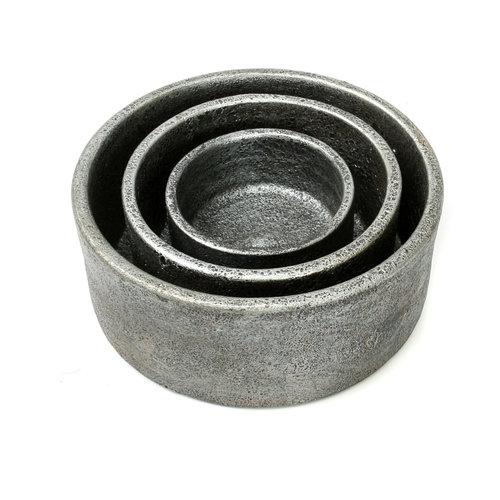 Burned Cylinder Astia - Harmaa - 3 kpl